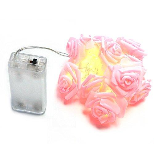 Inst 10 led pink rose flower fairy lights bulbs fittings ideas inst 10 led pink rose flower fairy lights mightylinksfo Choice Image