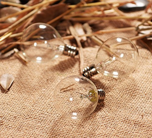 Joyin 174 Pack Of 10 Bulbs Replacement Glass Bulbs For String