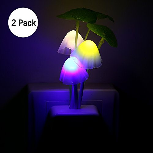 Kids Night Light 2pcs Led Plug In Nightlight For Kids