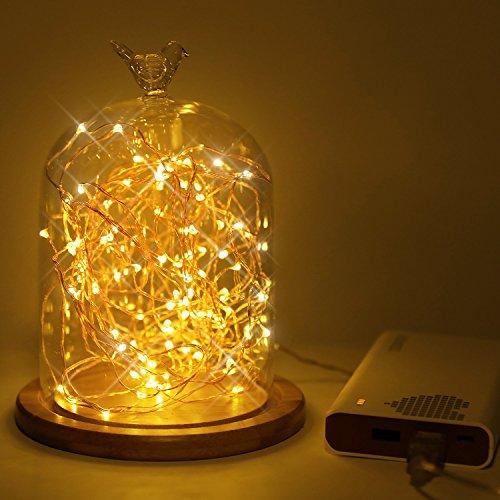 Kohree usb led fairy starry string lights decorative rope Decorative string lights for bedroom