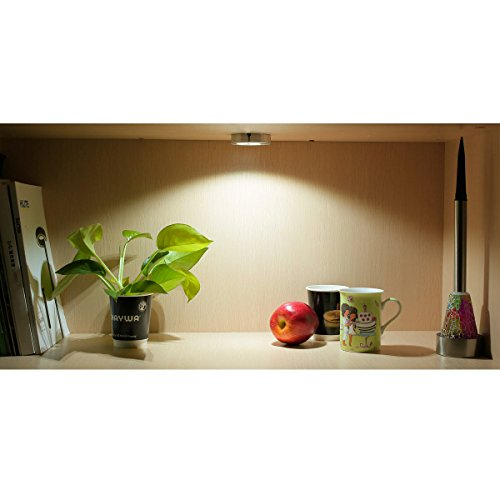 LE® 10 Pack Brightest LED Under Cabinet Lighting, Puck ...