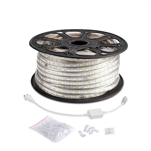 Le 164ft flexible led strip lights 3000 units smd 5050 leds 6000k le 164ft flexible led strip lights aloadofball Images