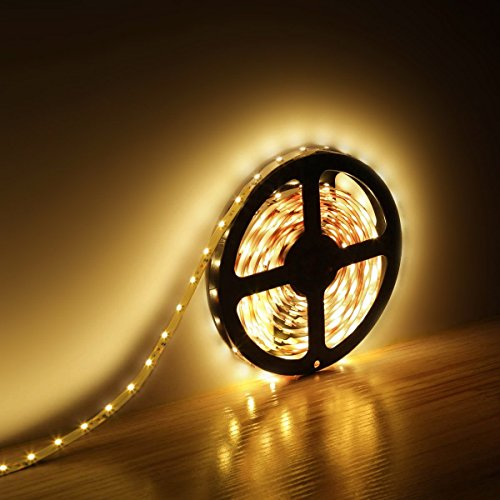 Flexible Led Light Strip 3528 Smd 12 Volt Quality Lighting: LE® 12V Flexible LED Strip Lights Kit, LED Tape, 3000K