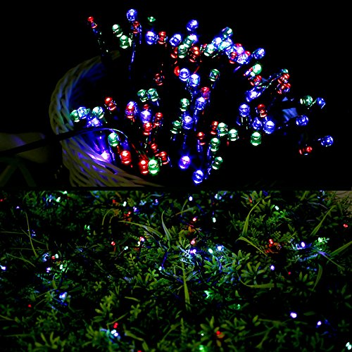 le solar powered led fairy string lights