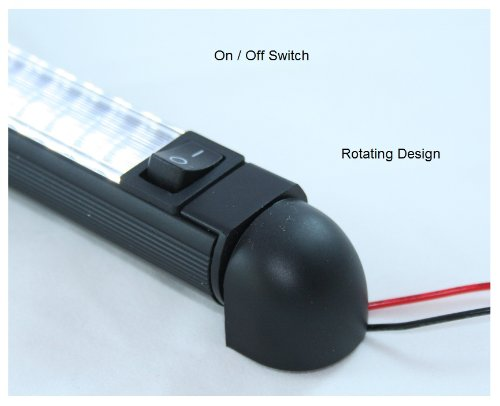 Led Bar Light Pivoting Water Resistant 12 Lamp 12