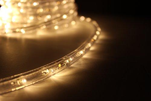 Led rope light warm white led rope light kit for 120v christmas led rope light warm white aloadofball Gallery
