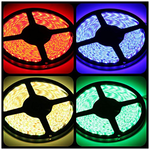 Ledmo 12v Waterproof Flexible Smd 5050 Rgb Led Strip
