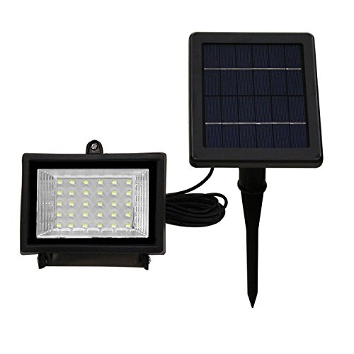 LTE 30 LED Solar Lights, Outdoor Security Floodlight, 150
