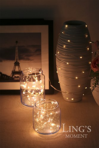 Ling S Moment Warm White Starry Lights Fairy Lights Copper