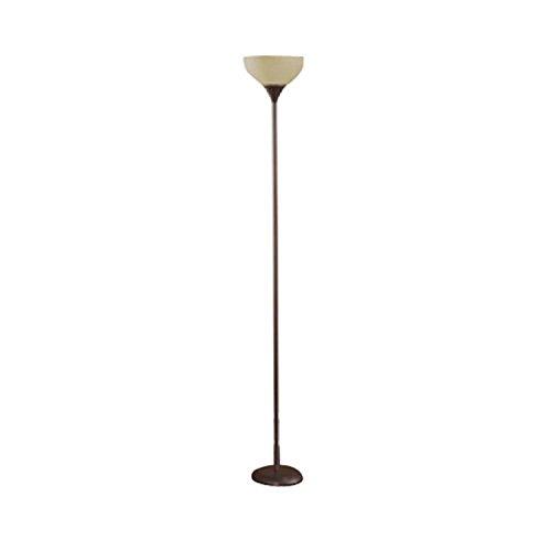 Mainstays floor lamp brown 71 tall bulbs fittings ideas for Mainstays 3 light floor lamp