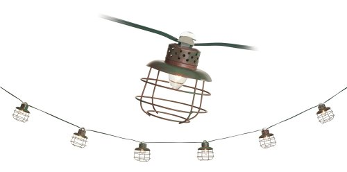 Metal Cage Lantern String Party Lights Bulbs & Fittings Ideas