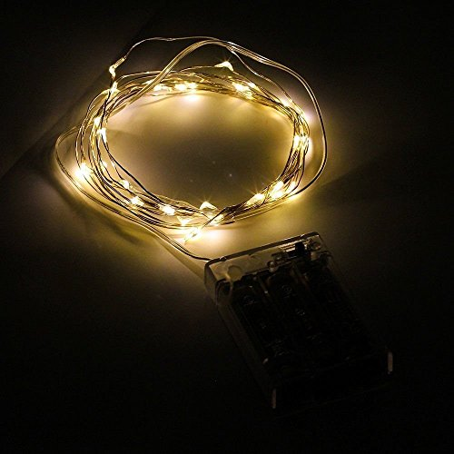 Led String Lights Indoor Battery : Minger Indoor/ Outdoor Led String Light 10ft 30Leds 3xAA Battery Powered Waterproof Rope Lights ...