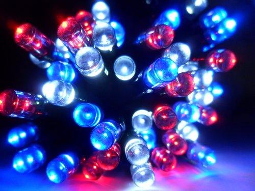 Solar String Lights Warm White, Ambiance Lighting, Fairy Twinkle Lights 100 Mini LED Strands for ...