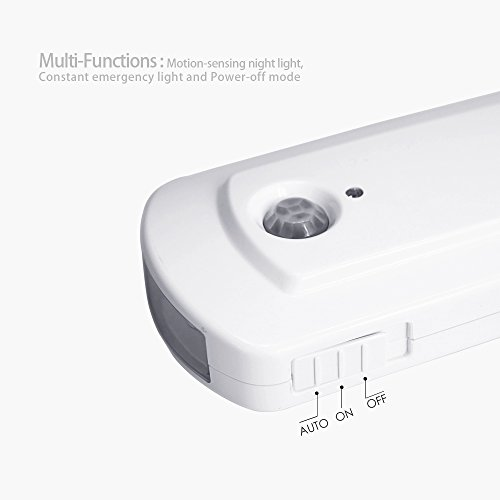 Techo Led Nightlight Flashlight Detachable Handheld Emergency Night