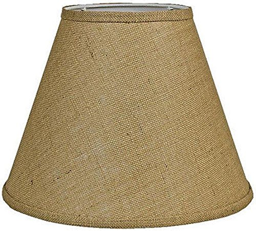 Tapered Burlap Lamp Shade Sizes 8-18″W Vintage Rustic ...