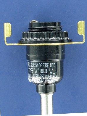 Upgradelights 174 Slip Uno Adapter Harp Converter Lamp Shade