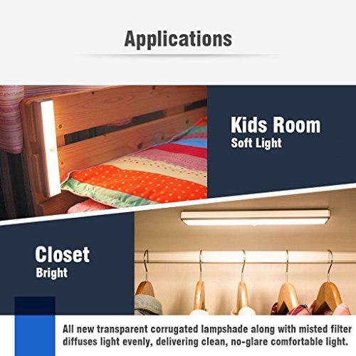 Kitchen Closet Under Cabinet Stick On 18 Led Motion Sensor: Veepeak Rechargeable LED Motion Sensor Light Closet Light