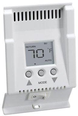 Cadet Electronic Programmable Baseboard Thermostat Digital 5 – 1 – 1 Programming 208/240 V 2 Pole Wh