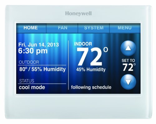 Honeywell TH9320WF5003 WiFi 9000 Color Touchscreen Thermostat Reviews