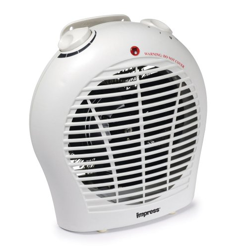 Impress 1500 Watt 2 Speed Fan Heater with Adjustable Thermostat Reviews