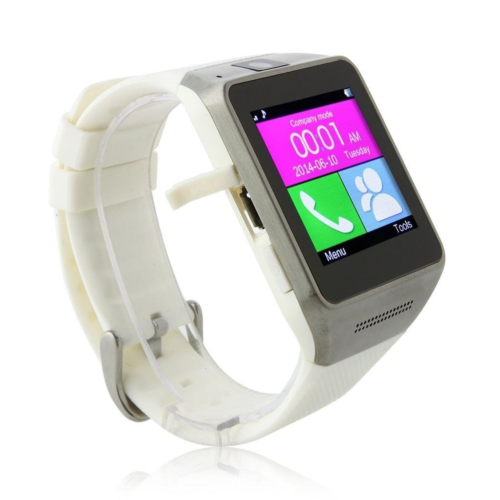 SHINES™ Bluetooth Wireless Camera Music Smart Watch Wrist for Android System