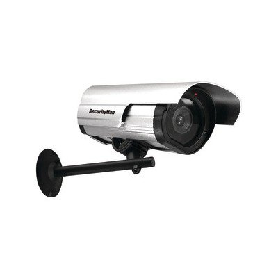 1 – Simulated Indoor/Outdoor Camera with LED, Deters unwanted intruders at just a fraction of the cost of a real camera, Looks like a real security camera, SM-3802