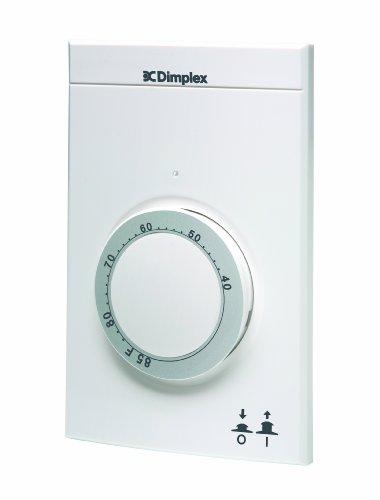 Dimplex #ETS610W1 Electronic Line Voltage Thermostat Single Pole, White Reviews