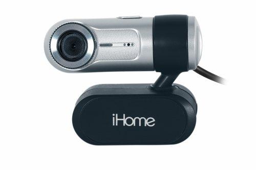 iHome MyLife Notebook Webcam – Silver (IH-W310NS)