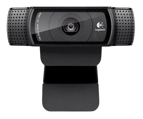 Logitech HD Pro Webcam C920, 1080p Widescreen Video Calling and Recording