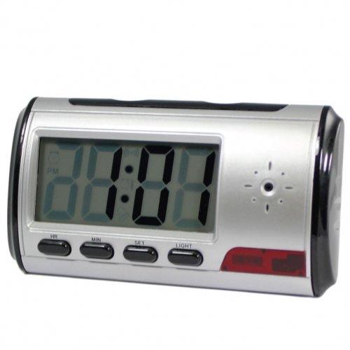 New Digital Alarm Clock DVR with motion detector 4GB