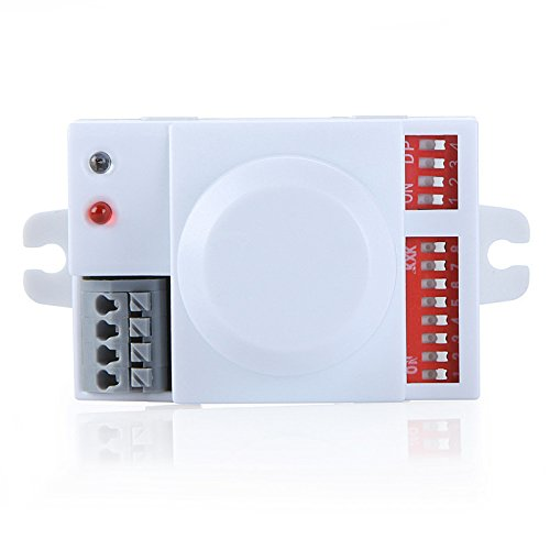 GigaMax(TM) Microwave Motion Sensor Switch Doppler Radar Wireless Module for Lighting 220V 360 Degree 5.8GHz