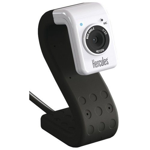 Hercules 4780718 HD Twist Mini Webcam – Black Edition