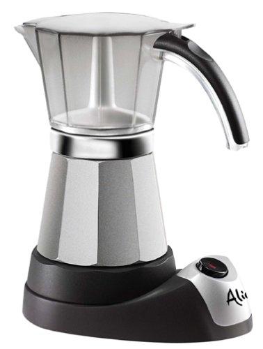 Delonghi EMK6 Alicia Electric Moka Espresso Coffee Maker Reviews