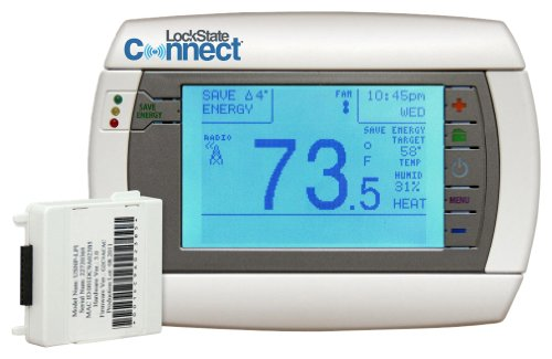LockState Connect LS-90i WiFi Internet Programmable Thermostat Reviews