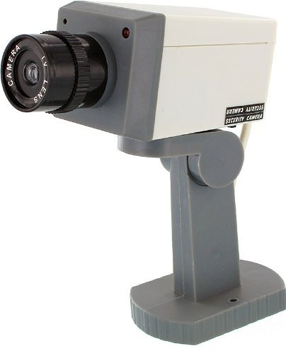 Fake Security Camera With Motion Detector