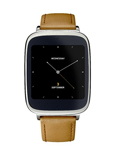 Asus ZenWatch Smart Watch for Select Android Devices (Silver/Rose Gold/Brown)