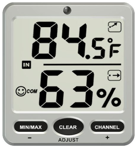 Ambient Weather WS-07-C Big Digit 8-Channel Wireless Thermo-Hygrometer Display Console Reviews