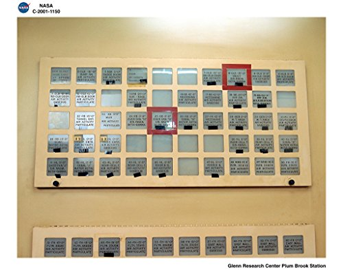 POSTER A3 NASA Remote Area Monitoring System RAMS panel Identical Remote Area Monitoring System RAMS detector location panels found in both the health safety operations office and the