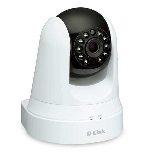 D-Link Wireless Pan & Tilt Day/Night Network Surveillance Camera with mydlink-Enabled and a Built-In Wi-Fi Extender (DCS-5020L) Reviews
