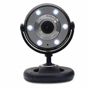 Gear Head Genuine Night Vision Web Cam Black