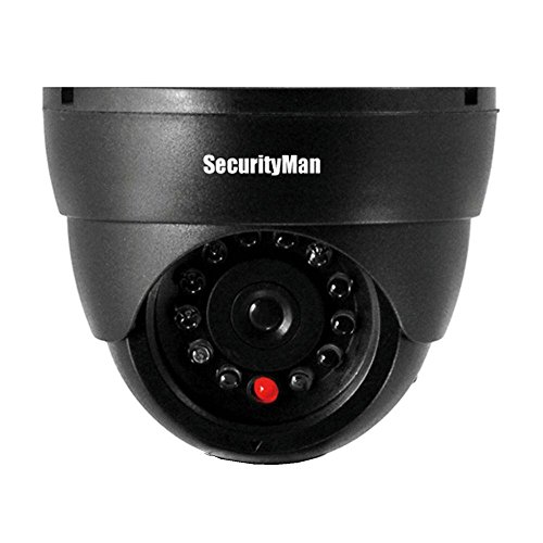 Dummy Indoor Dome Camera with LED