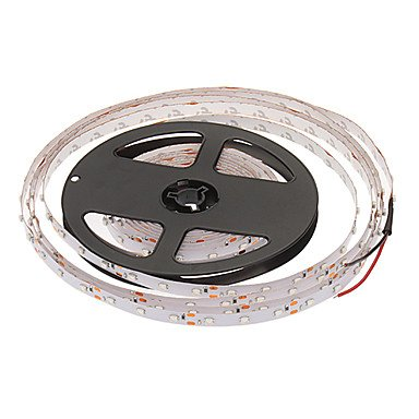 LWW-5M 24W 60x3528SMD 900-1200LM Green Light LED Strip Light with 12V 2A Adapter Reviews