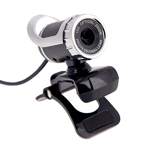 Andoer New USB 2.0 12 Megapixel HD Camera Web Cam 360 Degree CMOS with MIC Clip-on for Desktop Skype Computer PC Laptop