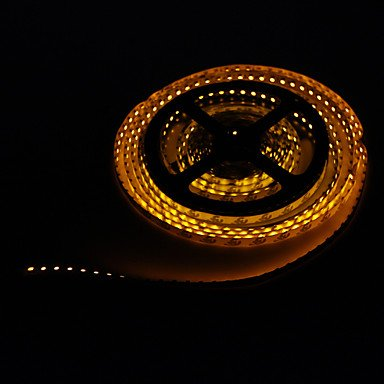 LWW-5M 48W 600x3528SMD Yellow Light LED Strip Lamp (DC 12V)