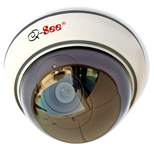 Non-Operational Indoor/Outdoor Decoy Dome Security Camera