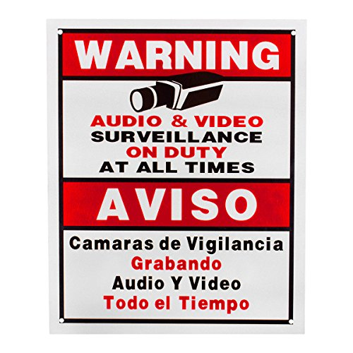 Best Vision Security Surveillance Warning Sign – Plastic – Outdoor Reviews