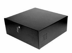 DVR Lockbox with cooling 21″W x 21″L x 8″H