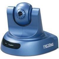 TRENDnet ProView Advanced Pan/Tilt/Zoom Internet Surveillance Camera TV-IP400 (Blue)
