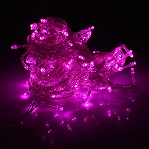 30 Mini Bulb Led Battery Operated Fairy String Lights In Pink For Christmas Wedding Home