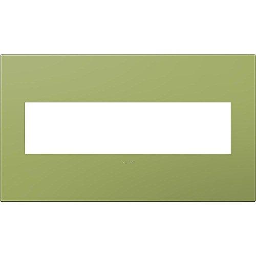 4 Gang Wall Plate – Lichen Green